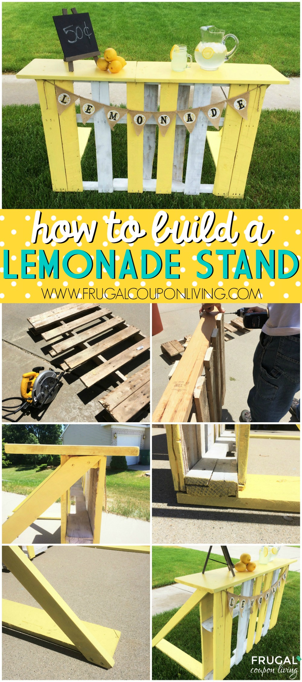 how to build a lemonade stand youtube