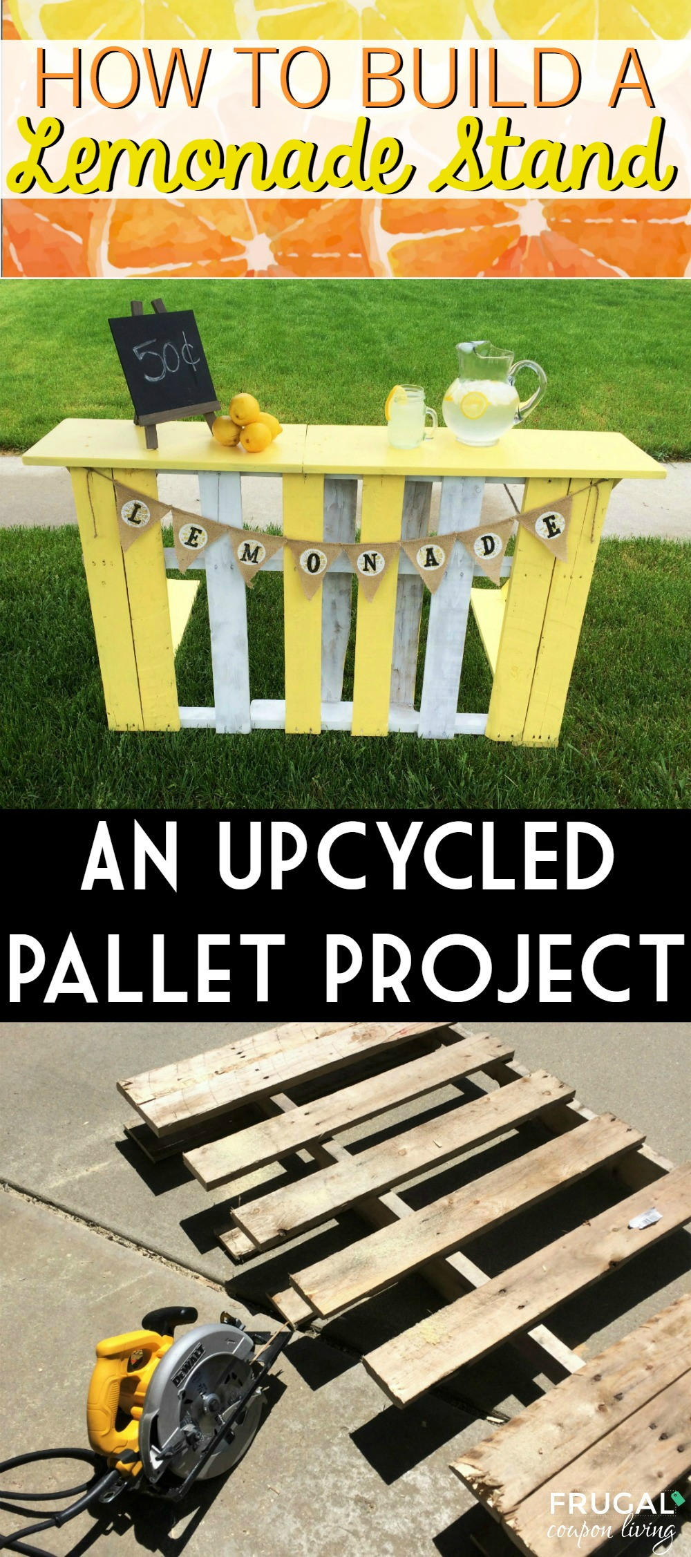 How To Build A Lemonade Stand With A Recycled Pallet