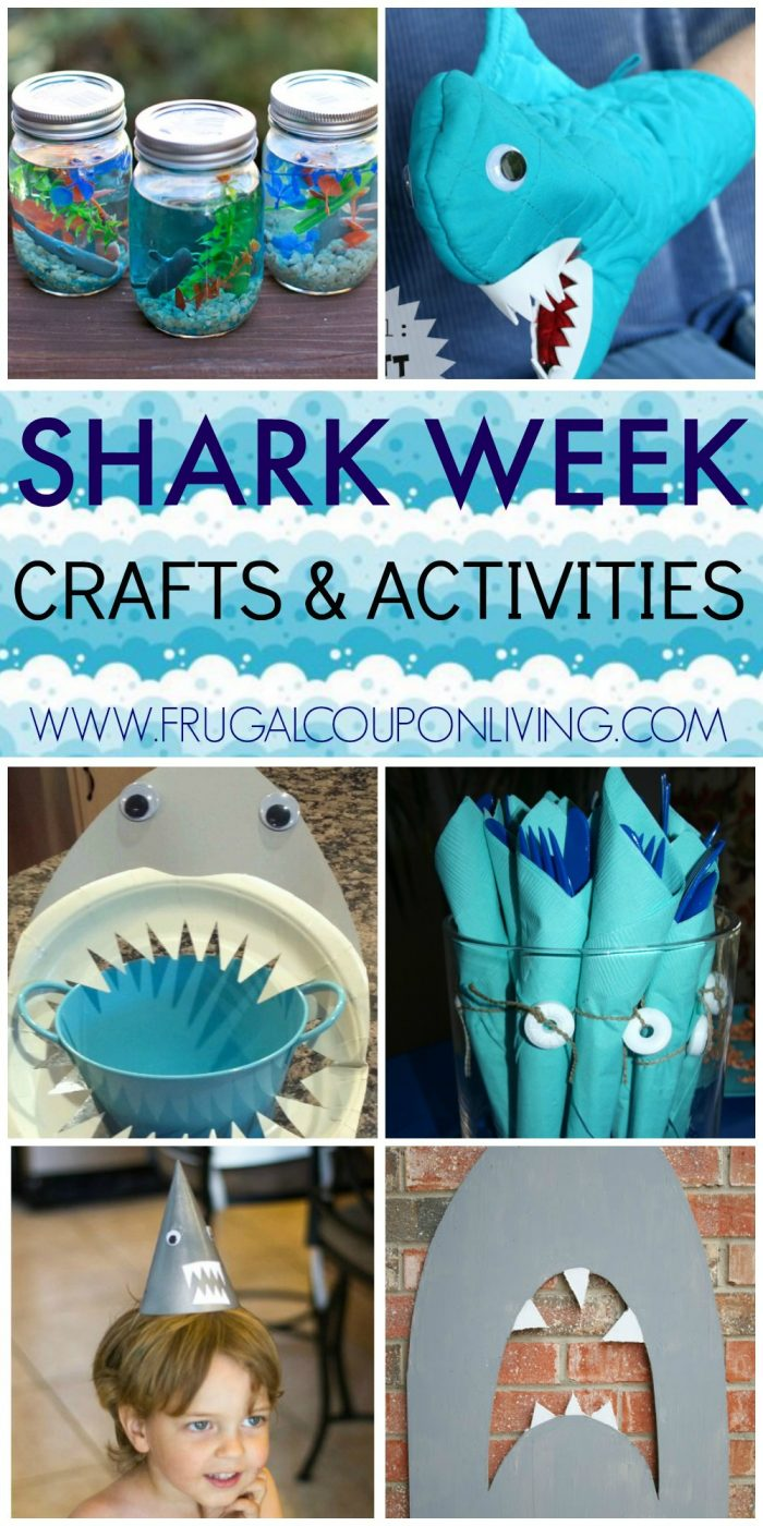 frugal craft ideas shark week ideas for 2057