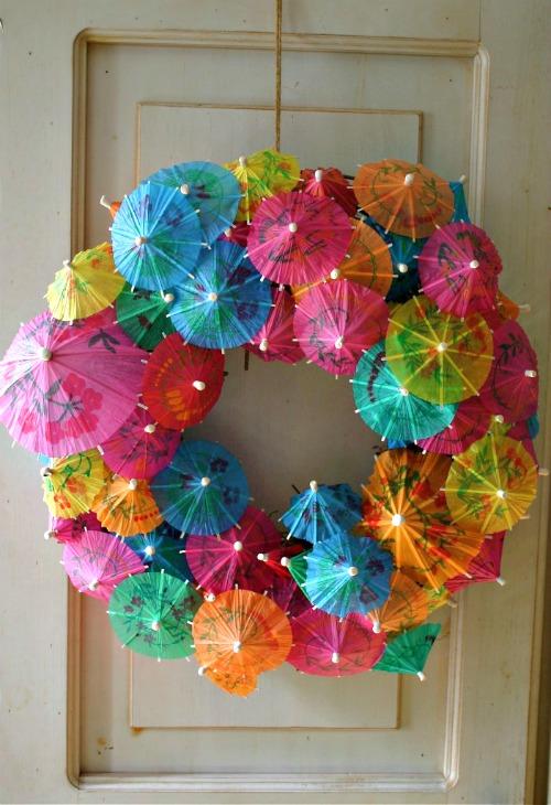 umbrella-wreath