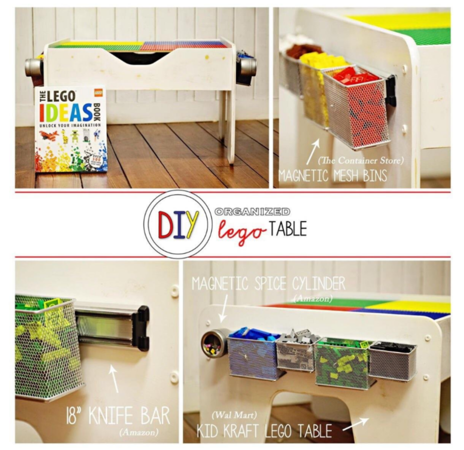 Upcycled Kid Kraft Table