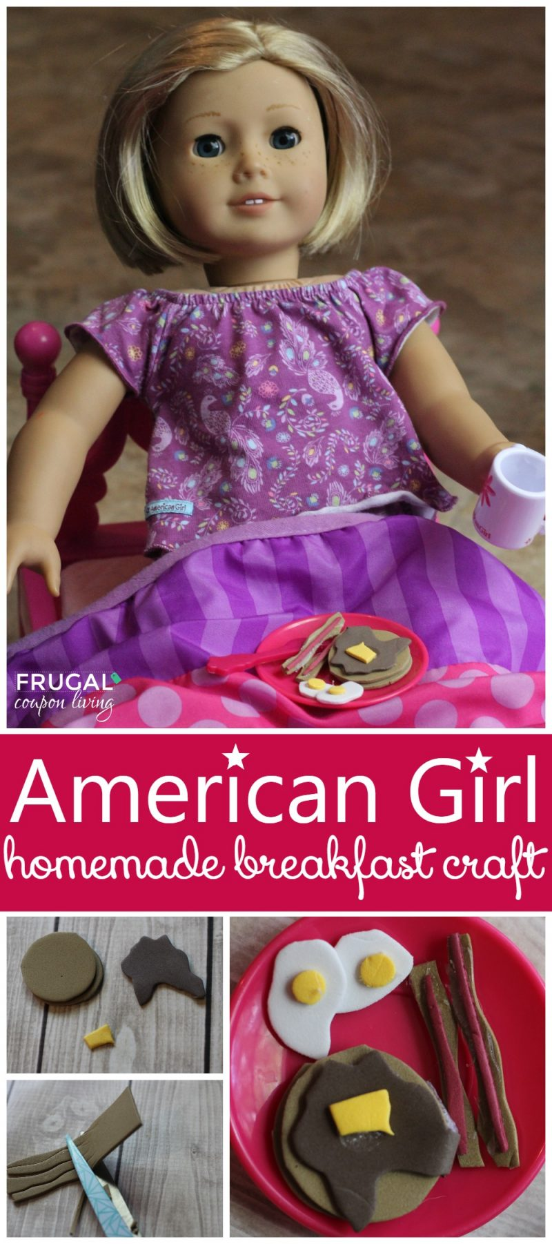 Diy American Girl Inspired Breakfast