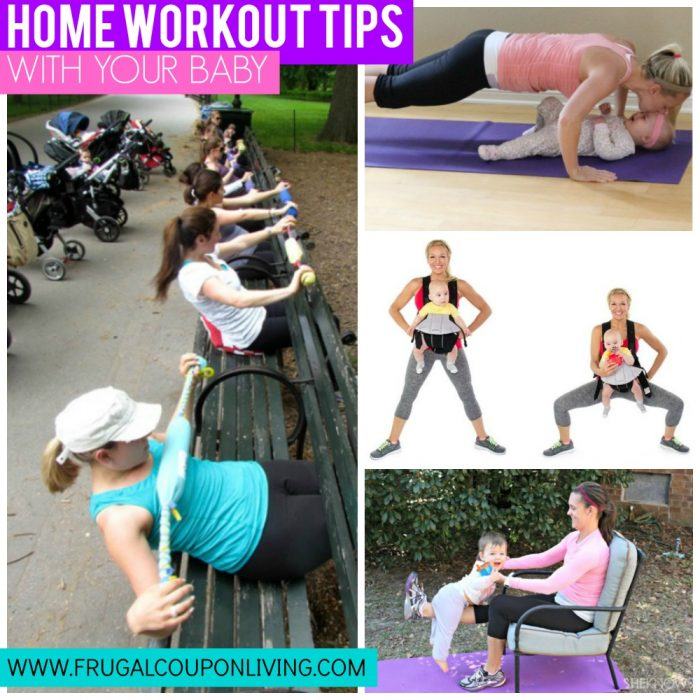 Home-workout-hacks-with-baby-frugal-coupon-living