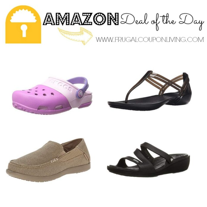 7d8ce13ed1d48 Amazon Deal of the Day  Up to 50% Off Crocs Shoes!