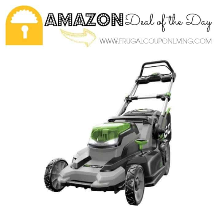 Amazon Deal Of The Day 28 Off EGO Power Cordless Lawn Mower