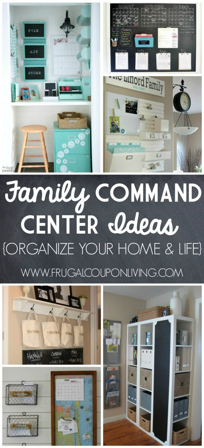 Home Command Centers And Homework Center Ideas
