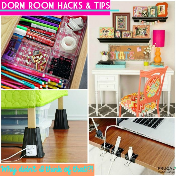 Going to College? Dorm Room Hacks and Tips!