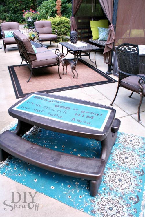 prayer-picnic-table