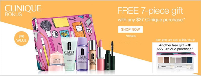 Bon-Ton: Free Clinique Gift ($70 Value) with $27 Purchase!