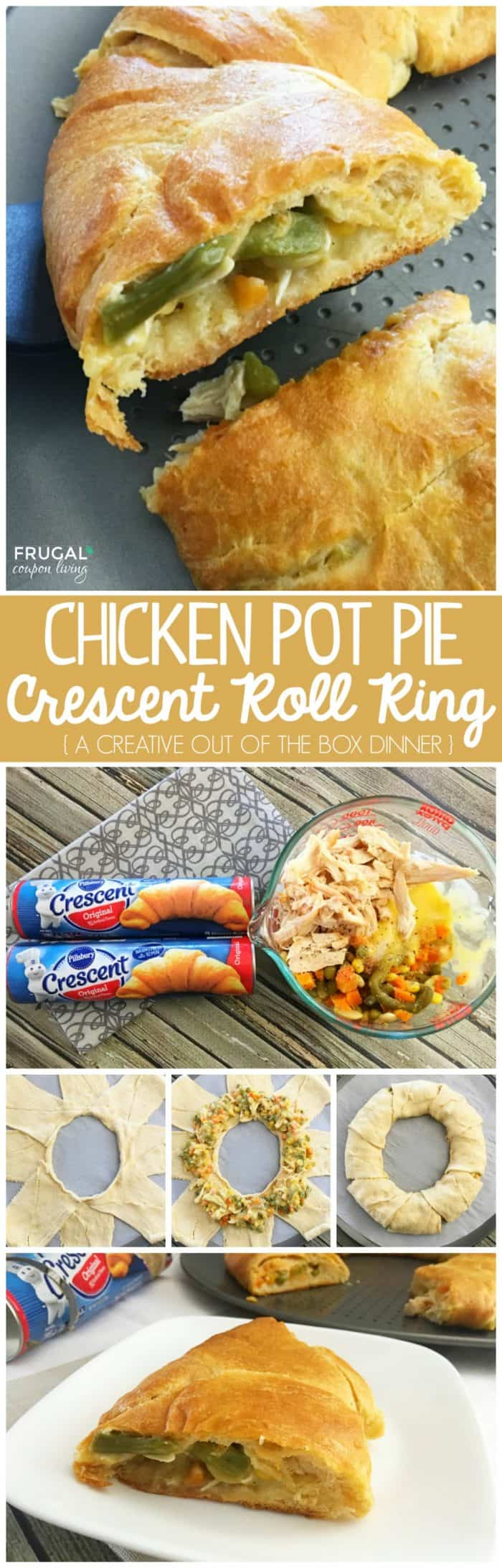 Pillsbury Chicken Pot Pie Crescent Roll Ring