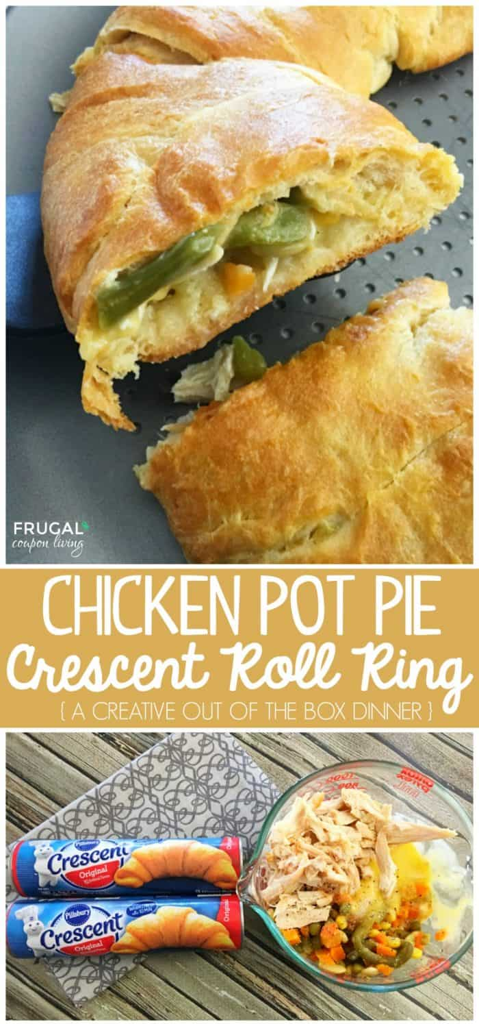 Chicken-Pot-Pie-Crescent-Roll-Ring-collage-shorter-vertical-frugal-coupon-living