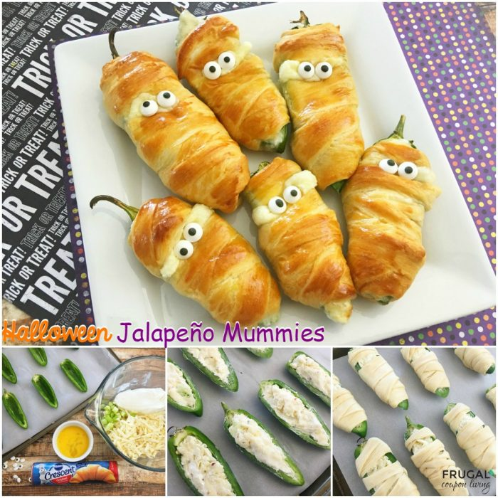 Halloween Jalapeño Poppers   Halloween Appetizers That Are Dreadfully Inviting   Homemade Recipes