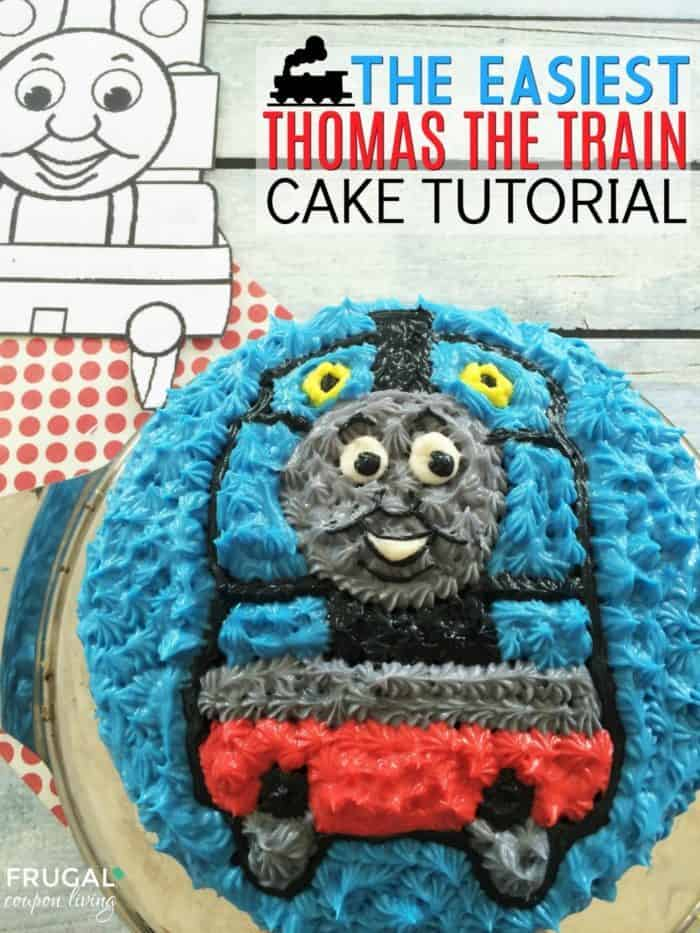 Thomas the Train Cake Tutorial