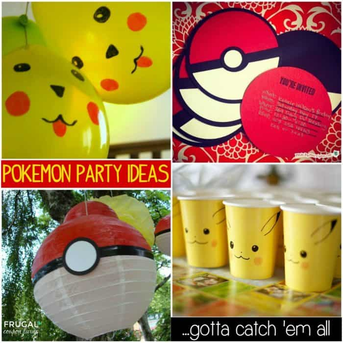for adults party ideas Pokemon