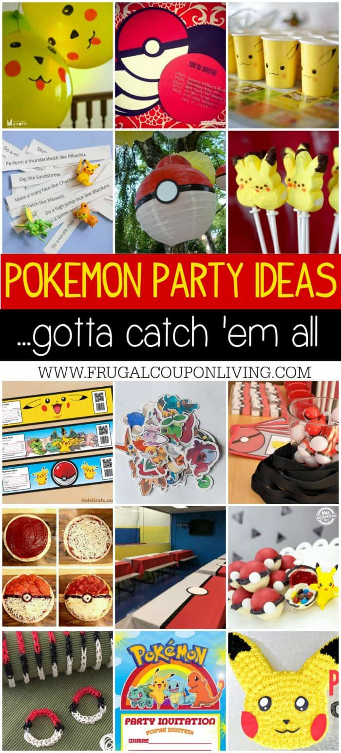 Pokemon Party Ideas Gotta Catch Em All