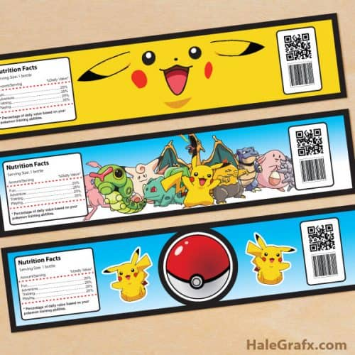 pokemon-water-bottle-labels