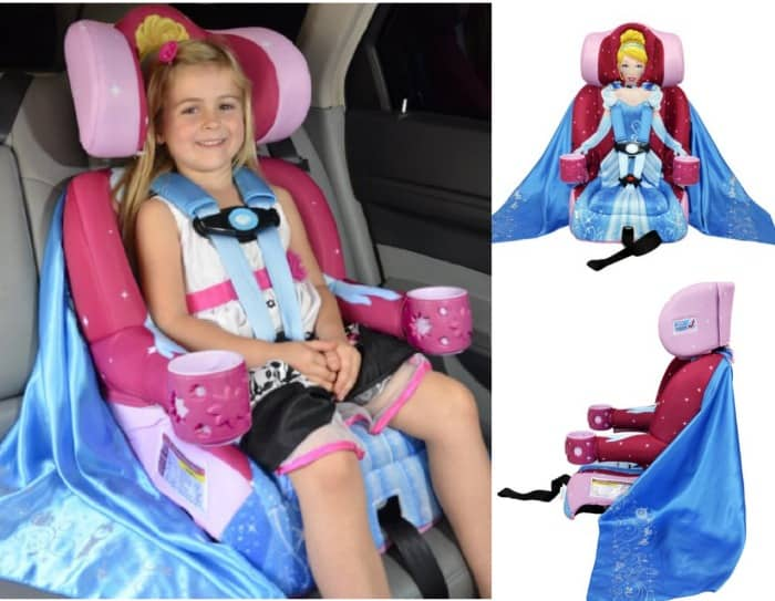 disney kidsembrace booster car seat cinderella just 72. Black Bedroom Furniture Sets. Home Design Ideas