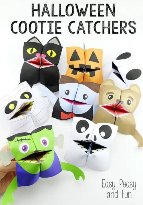 Halloween-Cootie-Catchers-Origami-for-Kids