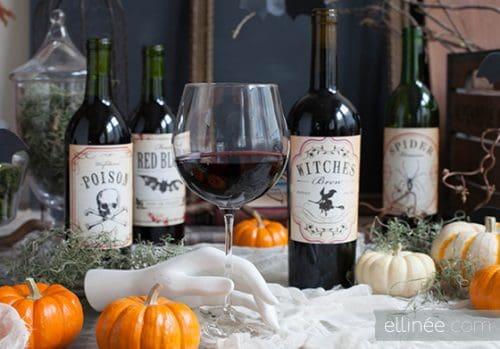 Halloween-wine-Bottle-Labels