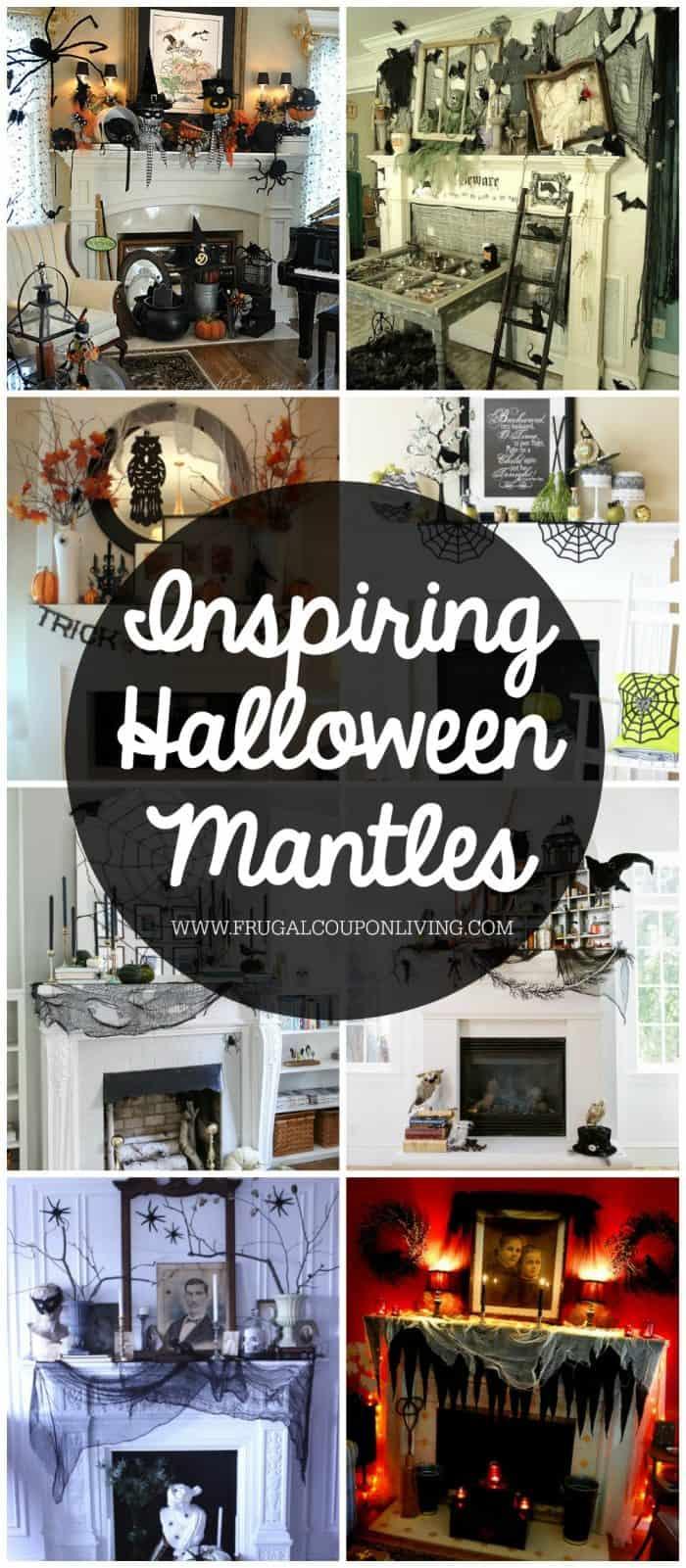 Inspiring-Halloween-Mantles-Collage-Frugal-Coupon-Living
