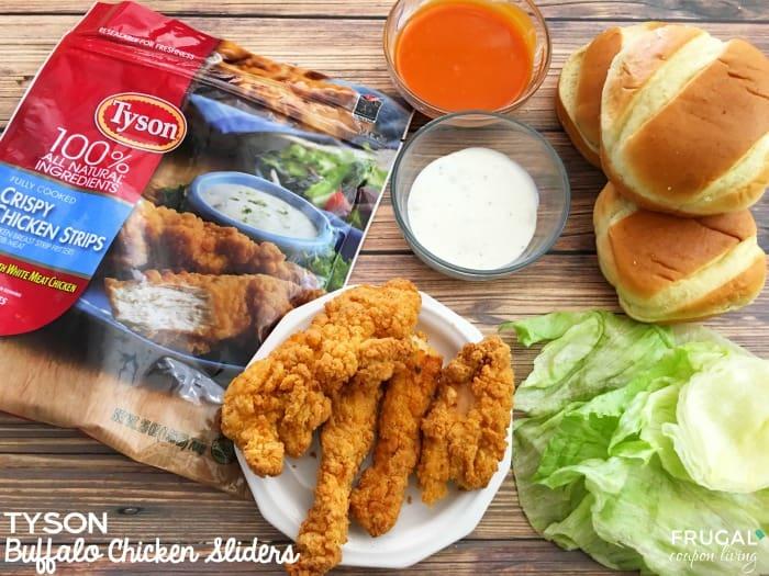 Tyson-Buffalo-Chicken-Slider-Recipe-Frugal-Coupon-Living-horizontal-title