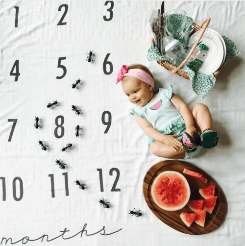 Monthly Baby Photo Ideas