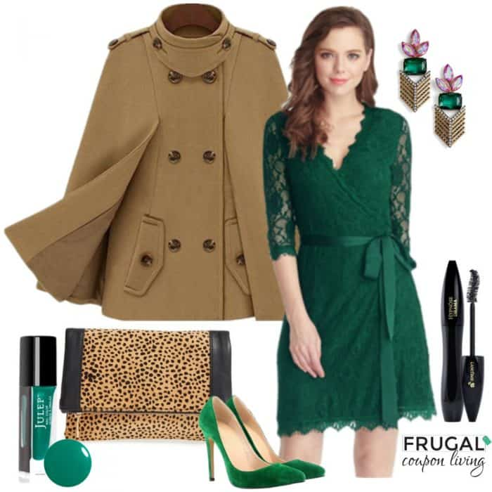 green-holiday-dress-outfit-frugal-coupon-living-frugal-fashion-friday