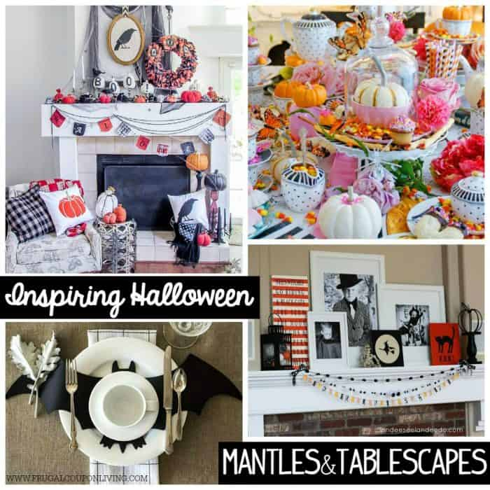halloween-mantles-tablescapes-collage-frugal-coupon-living