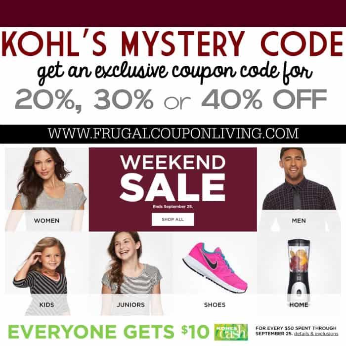 kohls-mystery-coupon-code