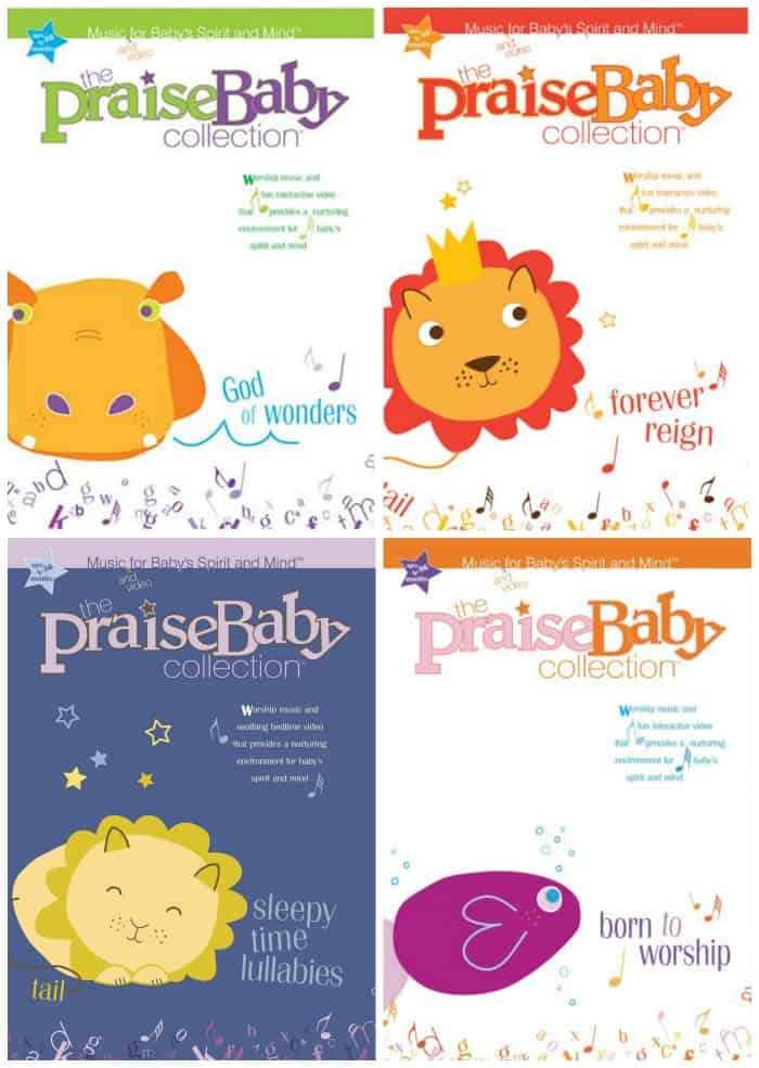 praise-baby-dvd-collage