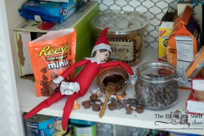 elf-chocolate-overdose-2-elf-on-the-shelf-ideas-frugal-coupon-living