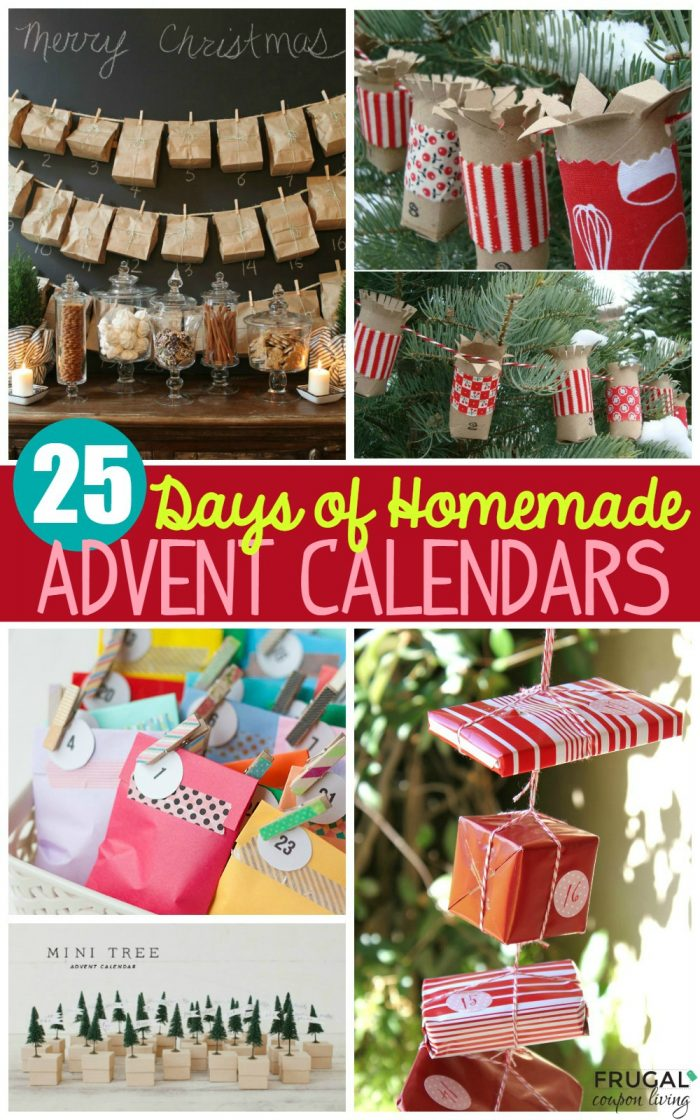 Homemade Calendar Ideas : Homemade advent calendars