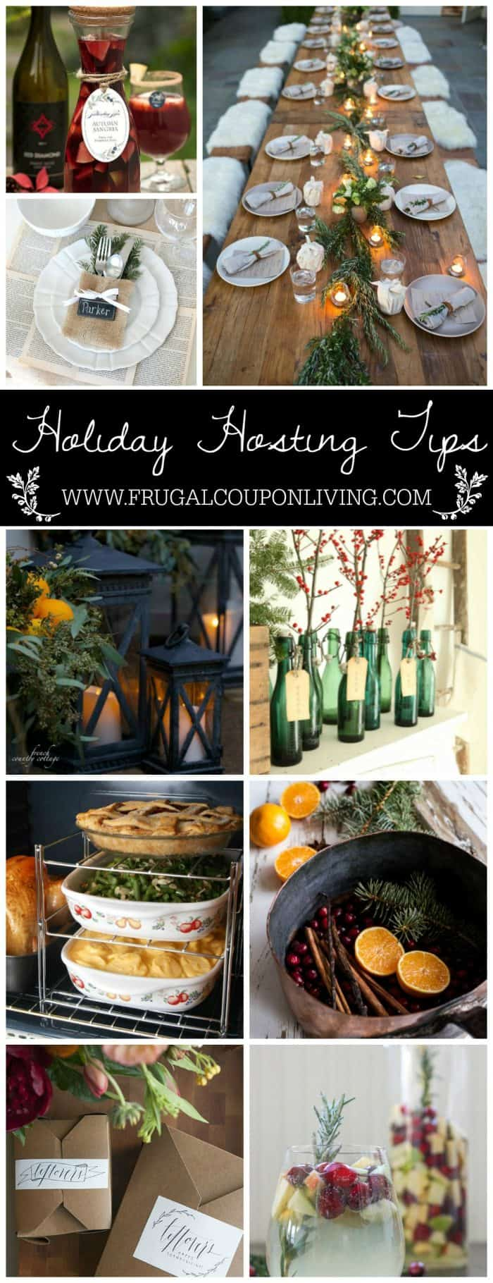 Party and Hosting Tips for the Holidays