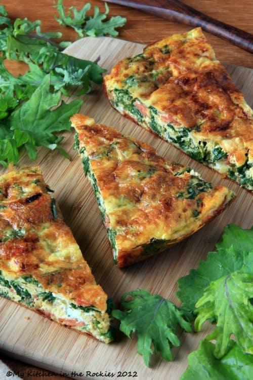 Kale-Frittata