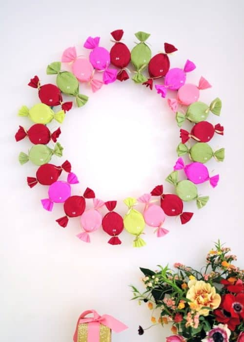 candy-advent-wreath