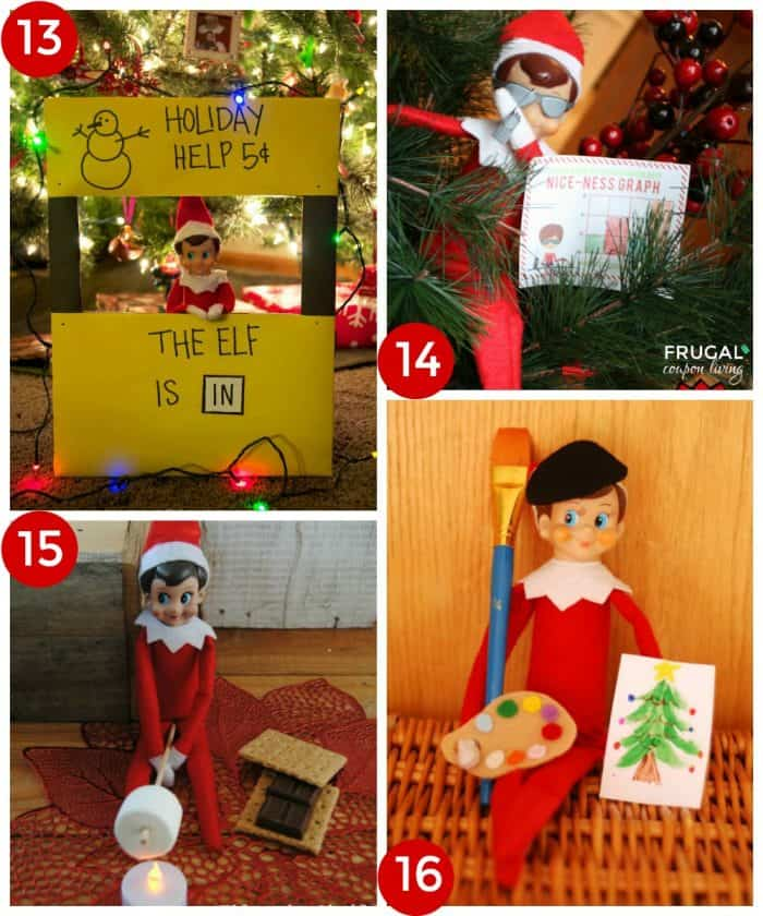 elf-on-the-shelf-ideas-collage-4-frugal-coupon-living