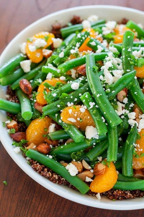 healthy-winter-green-bean-salad-quinoa-clementine-maple-citrus-dressing-recipe-PEASandCRAYONSx-1090xL