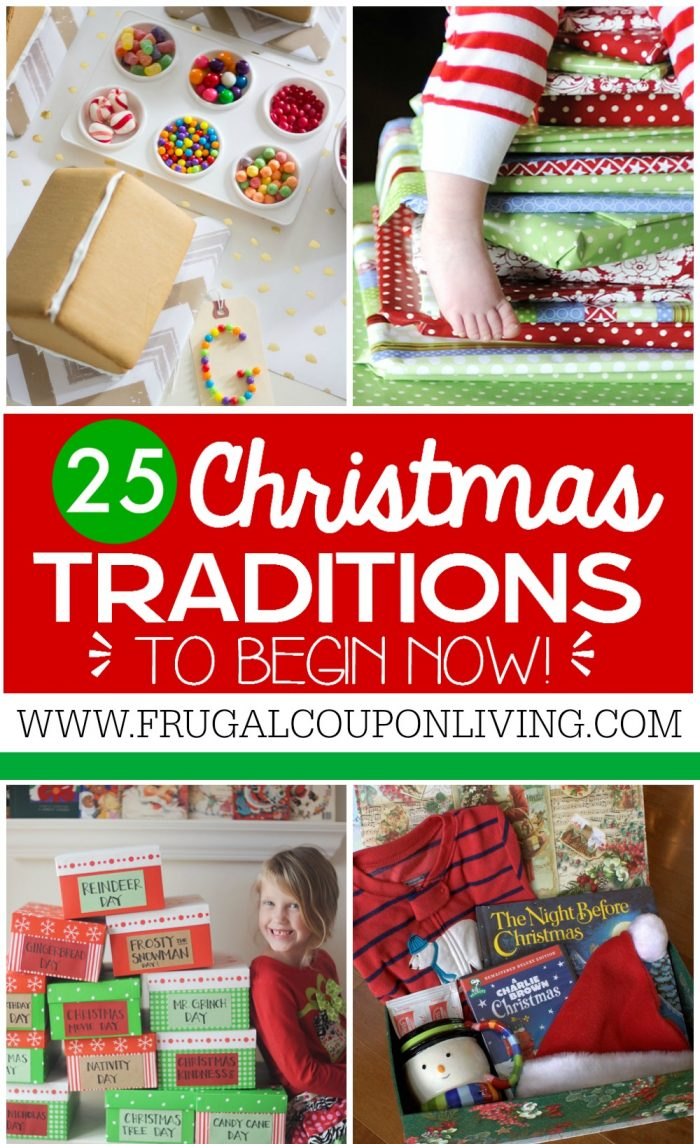 25 christmas traditions to start right now