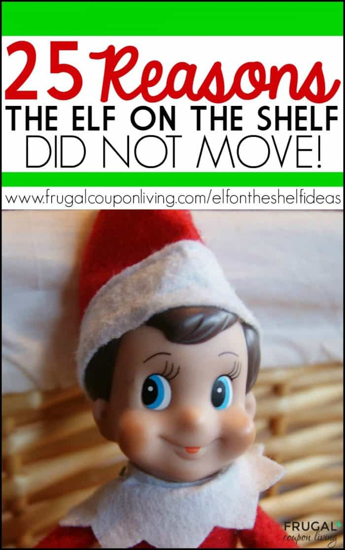 Elf on the Shelf Did Not Move