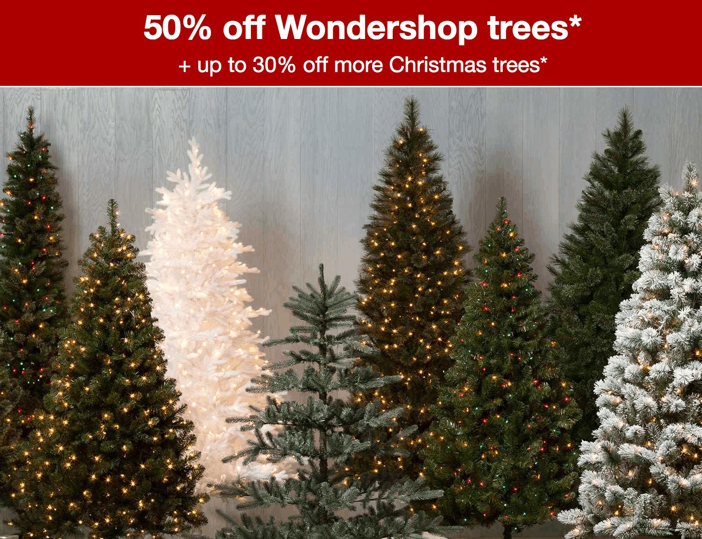 target 50 off wondershop christmas trees - Christmas Tree At Target