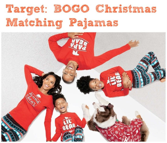 c8b90ae5e6 Plus all orders are also shipping for free! Checkout Target s matching  family pajamas collection perfect for your Christmas morning!