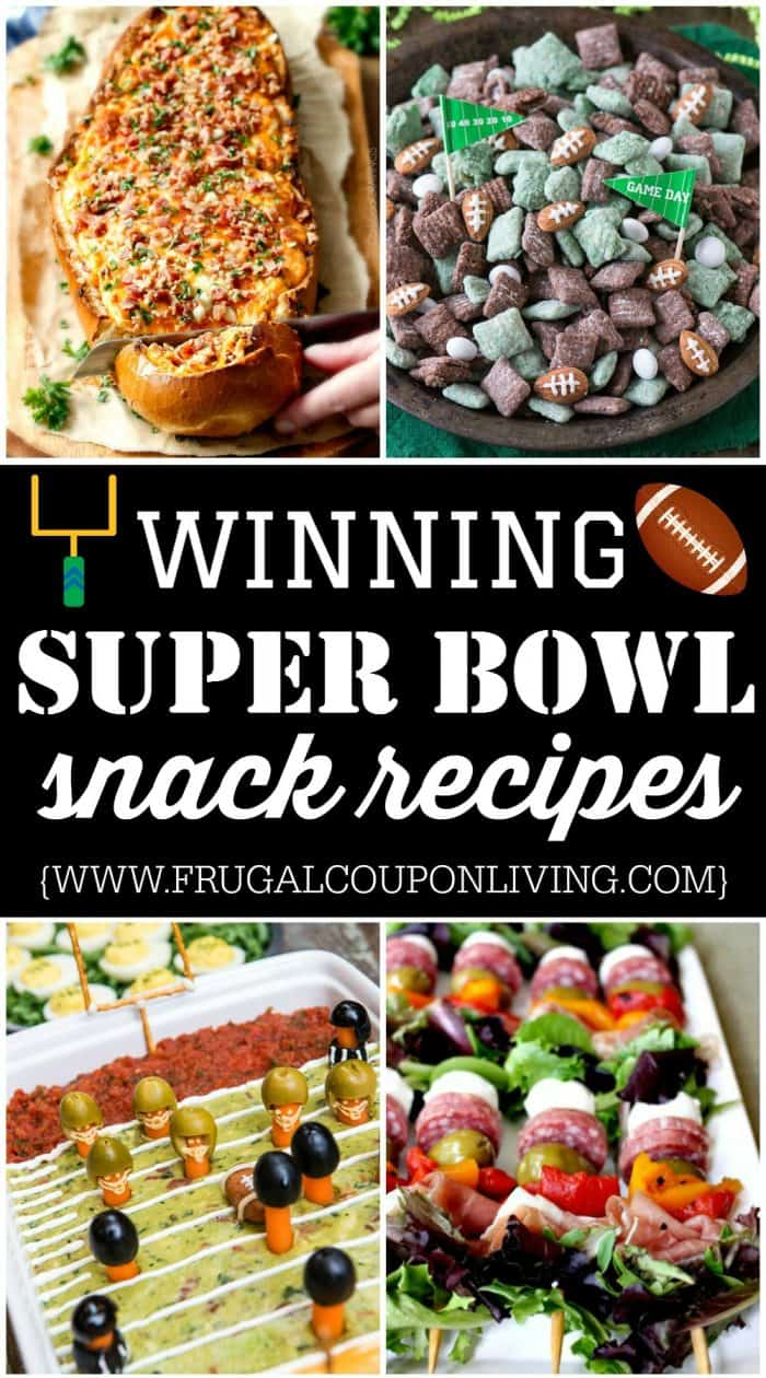 Winning Super Bowl Snacks