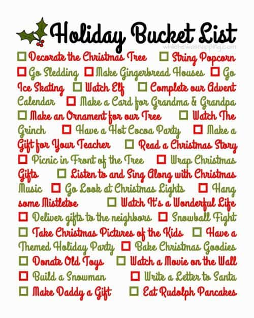chrirstmas-bucket-list