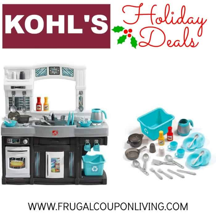 Kohl S Black Friday Step2 Modern Cook Kitchen Set