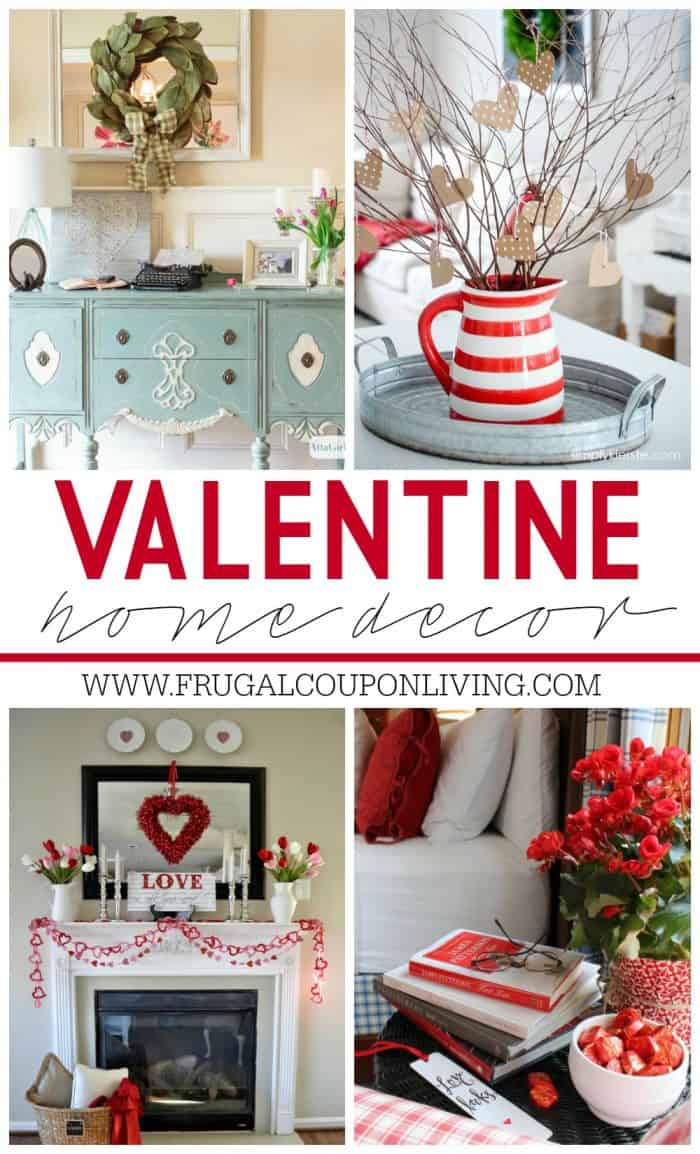 Valentine home decor ideas for Home decorations for valentine s day