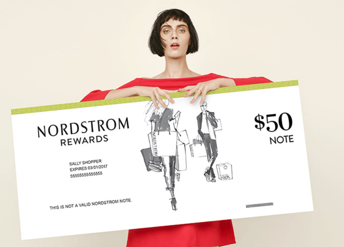nordstrom email coupon