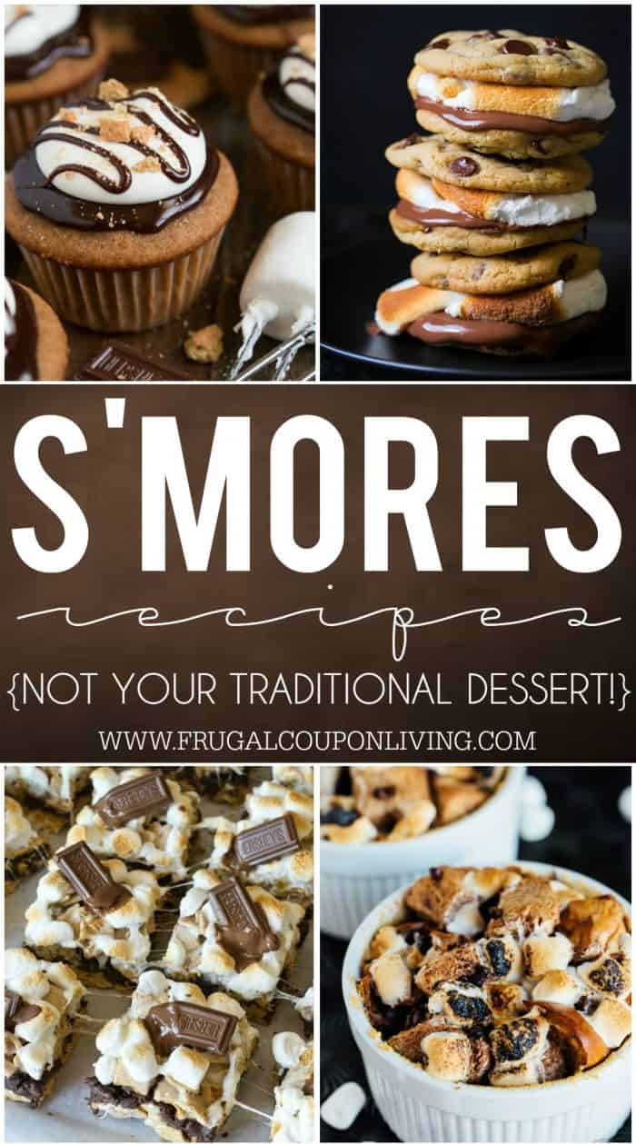 smores-recipes-collage-frugal-coupon-living-short
