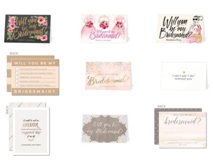 Wedding Paper Divas 10 Free Bridesmaid Cards