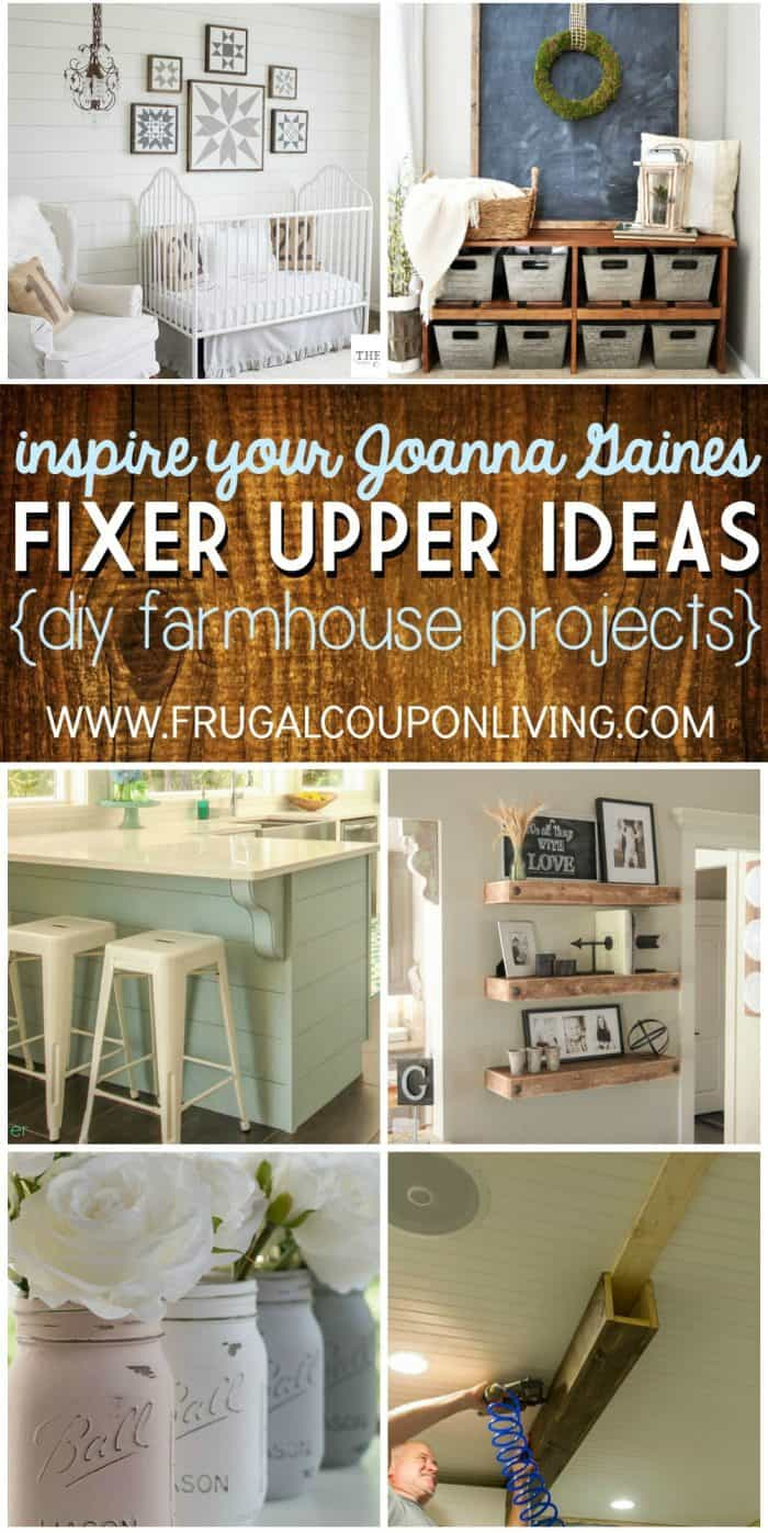 Fixer Upper Ideas Collage Frugal Coupon Living Short
