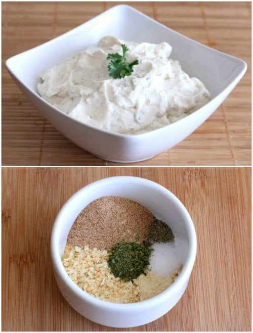 french-onion-dip-mix-collage